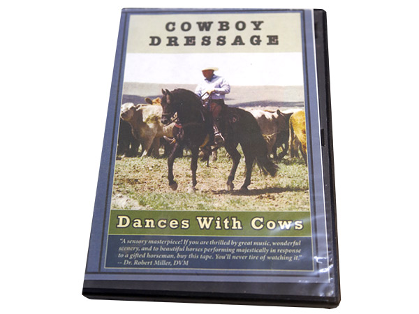 Cowboy Dressage. Dances with Cows