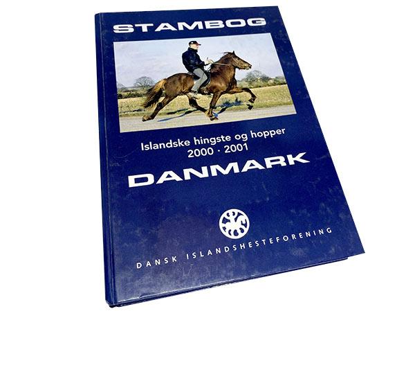 Stambog over islandske heste i Danmark